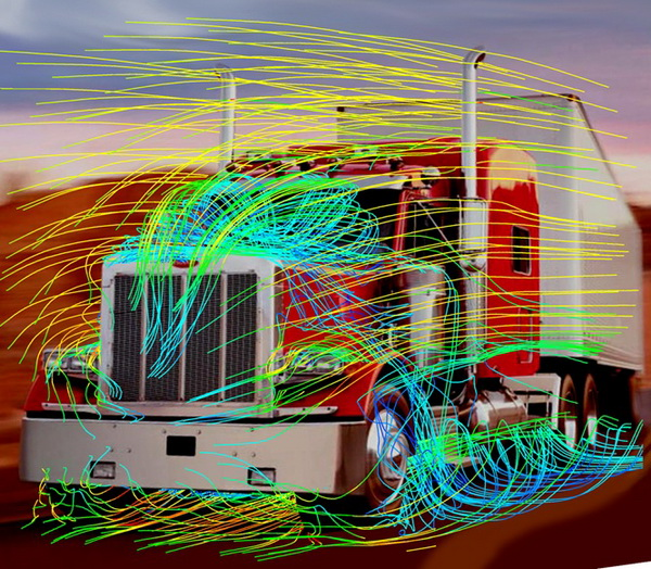 CompMechLab_ANSYS/CFX_Automotive_Steaming_2007.01_Peterbilt