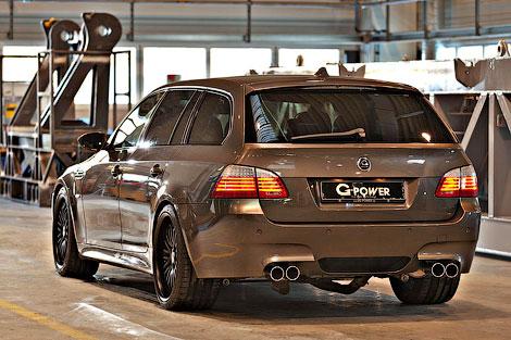 BMW M5 Hurricane RR Touring вид сзади