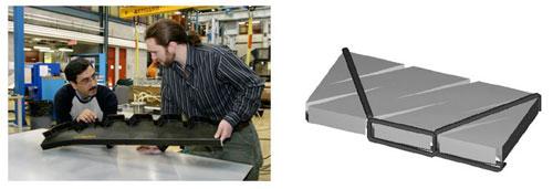 Разработка и применение методик КЭ моделирования вакуумной инжекции и затвердевания термореактивного связующего при изготовлении многослойных панелей