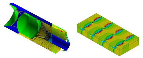 КЭ моделирование статики, динамики, прочности и разрушения изделий и конструкций, изготовленных из композиционных материалов