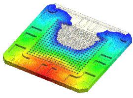 Моделирование процесса заливки в Moldex3D eDesign