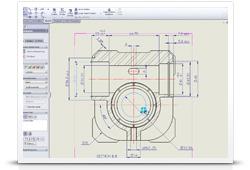 Инструмент Rapid Dimension для детализации чертежей